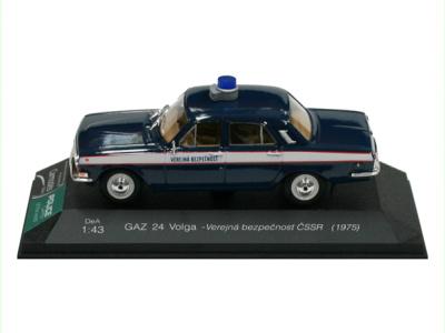 Carmodels SK | M 1:43 | GAZ 24 Volga - Verejná bezpečnosť ČSSR (1975)