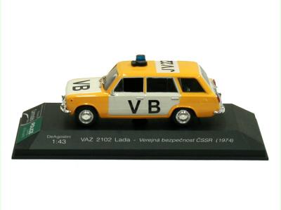 Carmodels SK | M 1:43 | VAZ 2102 Lada - Verejná bezpečnosť ČSSR (1981)