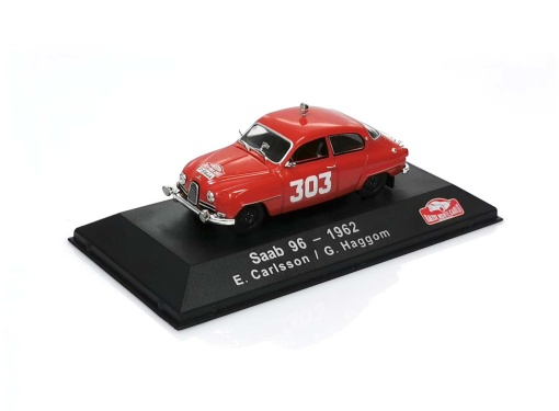 SAAB 96 - #303 E.Carlsson / G.Haggom RMC (1962)