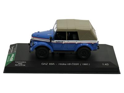 Carmodels SK   M 1:43   GAZ 69A - Hlídka VB ČSSR (1960)