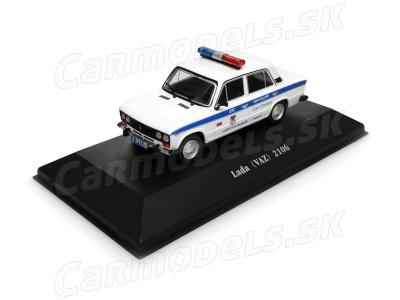 Carmodels SK / DeA | M 1:43 | VAZ 2106 Lada - VB (ČSSR) + Milicia (RUS)