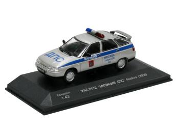 """VAZ 2112 Lada - Milicia Moskva """"Милиция"""" """"ДПС"""" (RUS) (2000)"""