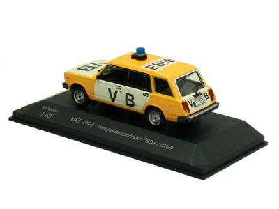 Carmodels SK | M 1:43 | VAZ 2104 Lada - Verejná bezpečnosť ČSSR (1988)