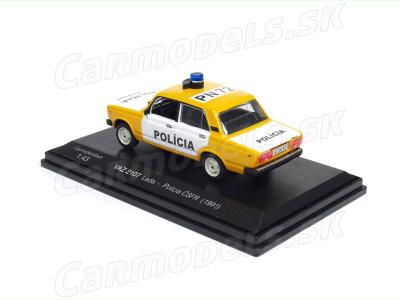 Carmodels SK / DeA   M 1:43   VAZ 2107 Lada - Polícia ČSFR (1991)