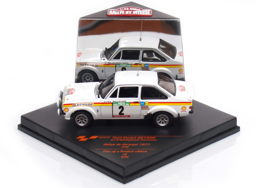 FORD Escort RS1800 # 2 - B.Waldegard / H.Thorszelius - Rally Portugal (1977)