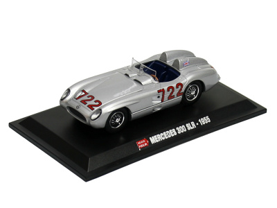 Hachette | M 1:43 | MERCEDES BENZ 300 SLR  #722 - Mille Miglia (1955)