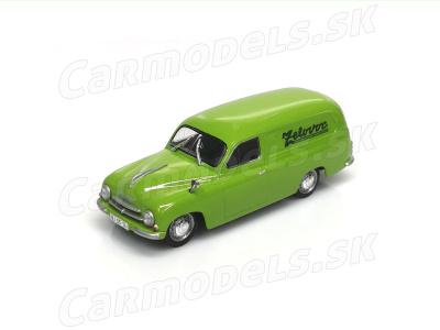 Carmodels SK / DeA | M 1:43 | ŠKODA 1201 Dodávka - Zelovoc (1952 -1961)