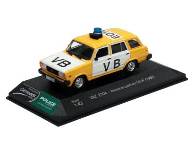 Bauer | M 1:43 | VAZ 2104 - Verejná bezpečnosť ČSSR (1988)
