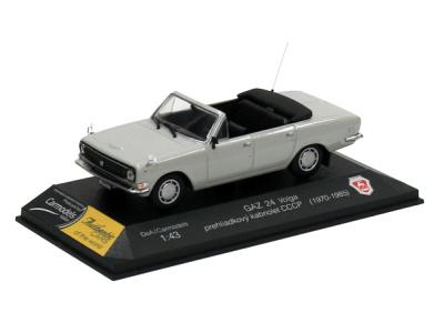 Carmodels SK / DeA | M 1:43 | GAZ 24 Volga - Prehliadkový kabriolet CCCP (1970-1985)