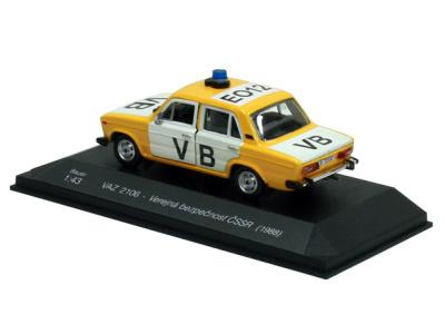 Bauer | M 1:43 | VAZ 2106 Lada - Verejná bezpečnosť ČSSR (1988)