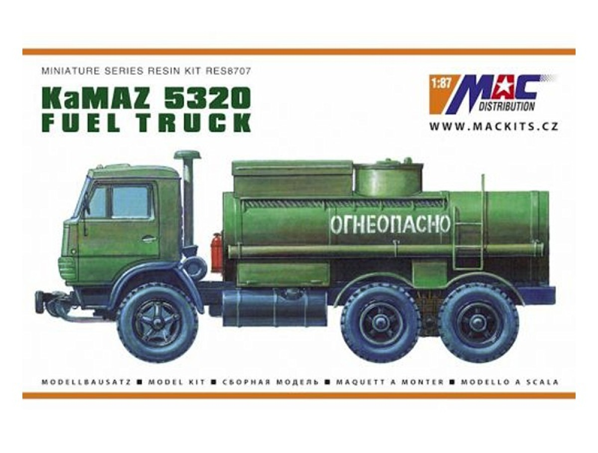 MACmodel CZ | M 1:87 | KamAZ 5320 - Fuel truck