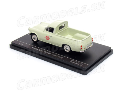 "Carmodels SK | M 1:43 | ŠKODA 1202 Pick Up ""Jednota"" (1963-1968)"