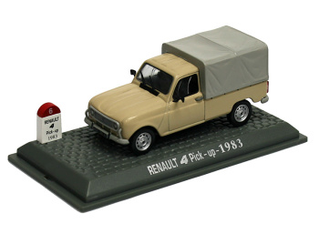 RENAULT 4  Pick Up (1983)