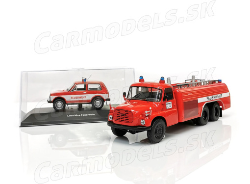 VAZ 2121 Lada Niva + TATRA 148 Feuerwehr