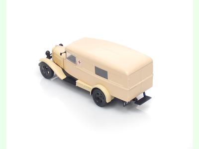 DeAgostini | M 1:43 | GAZ 55 - Civilná zdravotná služba (1938 )