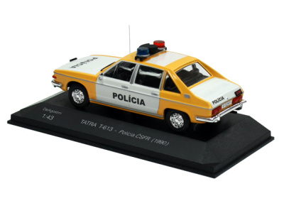 Carmodels SK / DeA | M 1:43 | TATRA T-613 - Polícia ČSFR (1990)