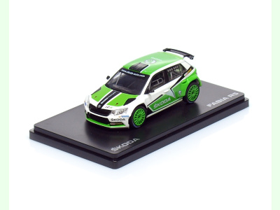 Abrex CZ | M 1:43 | ŠKODA Fabia III. R5 - Show Car (2015)