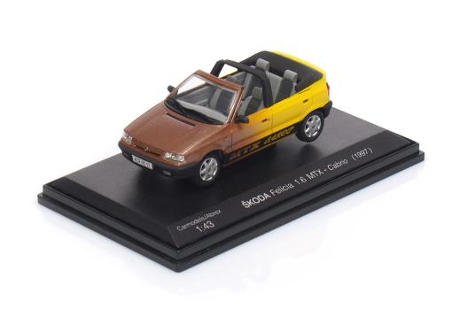 ŠKODA Felícia 1.6 MTX - Cabrio (1997)