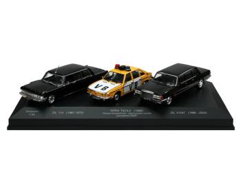 Set Limousine - ZIL 114 / TATRA 613-2 -VB ČSSR / ZIL 41047