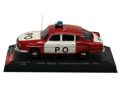 Carmodels SK / DeA | M 1:43 | TATRA 603/3 - Požiarna ochrana ČSSR (1975)