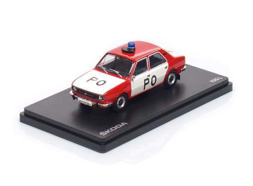 ŠKODA 105L - Požiarna ochrana ČSSR (1977)