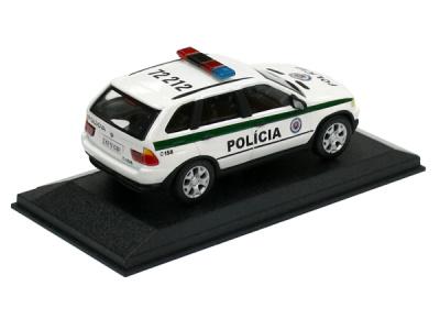 Cararama / Hongwell | M 1:43 | BMW X5 - Polícia SR ( 2004 )