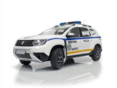 Solido   M 1:18   DACIA Duster - Mestská polícia Košice (SR, 2020) + Box