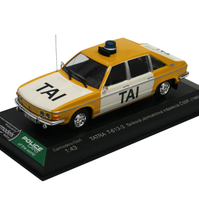 TATRA T-613-3 - Tanková automobilová inšpekcia (1985)