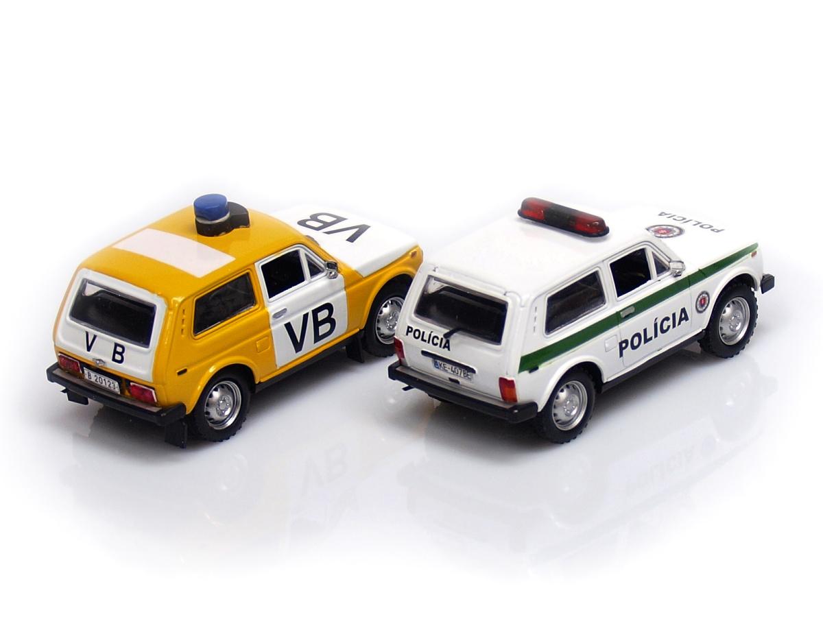 Carmodels SK | M 1:43 | VAZ 21213 Lada Niva 4x4 - Polícia SR (1995-2007)