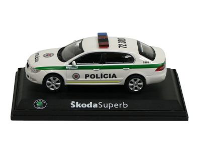 Abrex CZ | M 1:43 | ŠKODA Superb II. - Polícia SR (2010)