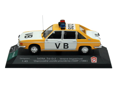 Carmodels SK |  | TATRA T-613-2 - Verejná bezpečnosť ČSSR (1979)