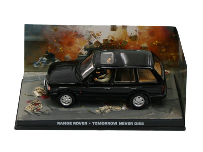 "Eaglemoss Publications   M 1:43   RANGE ROVER - James Bond Series ""Tomorrow Never Dies"""
