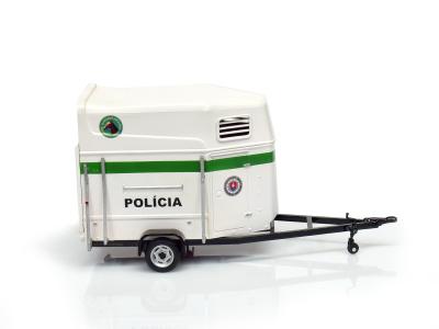 Cararama / Hongwell | M 1:43 | Príves na prepravu koní - Polícia SR