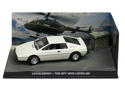 "Eaglemoss Publications | M 1:43 | LOTUS Esprit - James Bond Series ""The Spy Who Loved Me"""