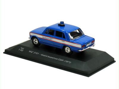 Agat / Tantal | M 1:43 | VAZ 2101 Lada - Verejná bezpečnosť ČSSR (1971)