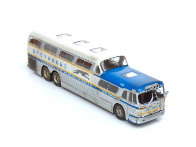 Hachette | M 1:43 | GREYHOUND Scenicruiser Silver Express (1956)