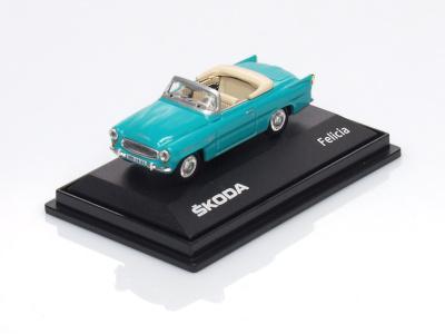 Abrex CZ | M 1:72 | Škoda Felicia Roadster (1963)
