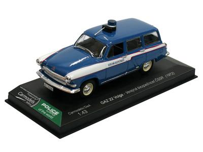 Carmodels SK / DeA | M 1:43 | GAZ 22 Volga - Verejná bezpečnosť ČSSR (1972)
