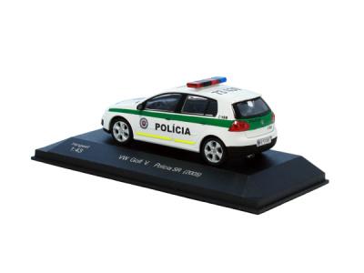 Cararama / Hongwell   M 1:43   VW Golf V. - Polícia (2005)