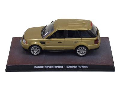 "Eaglemoss Publications   M 1:43   RANGE ROVER Sport - James Bond Series ""Casino Royale"""