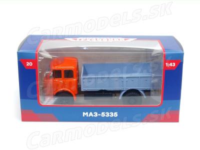 Modimio collections | M 1:43 | MAZ - 5335 Valník ( 1977-1990 )