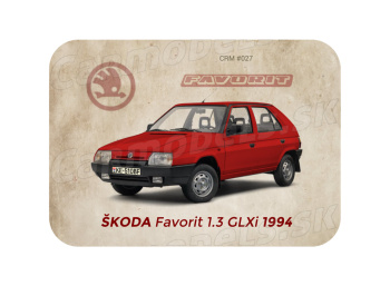 MAGNETKA Škoda Favorit 1.3 GLXi (1994)
