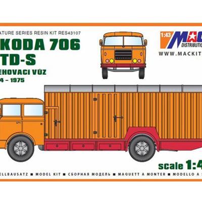 ŠKODA 706 RTD-S - Sťahovací voz (1964-1975)