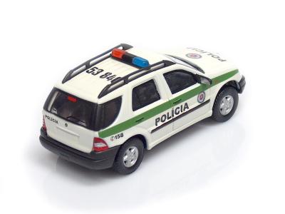 Cararama / Hongwell | M 1:43 | MERCEDES-BENZ ML 320 - Polícia SR