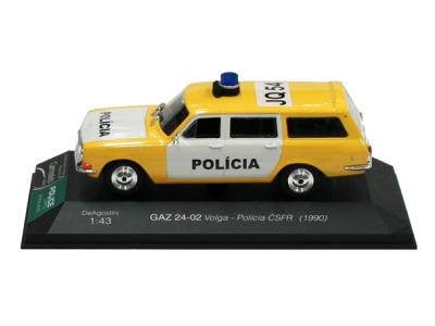 Carmodels SK | M 1:43 | GAZ 24-02 Volga - Polícia ČSFR (1990)