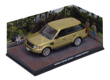 "RANGE ROVER Sport - James Bond Series ""Casino Royale"""