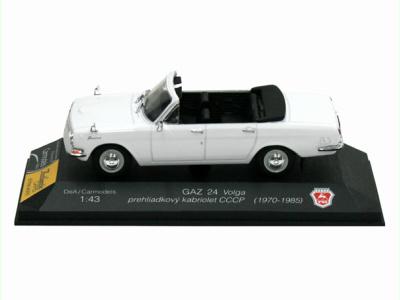 Carmodels SK / DeA   M 1:43   GAZ 24 Volga - Prehliadkový kabriolet CCCP (1970-1985)