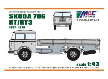 ŠKODA 706 RT/RT-3 valník (1957-1970)