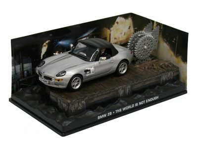 "Eaglemoss Publications | M 1:43 | BMW Z8 - James Bond Series ""The World Is Not Enough"""
