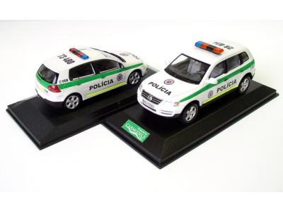 Carmodels SK   M 1:43   VW Touareg - Polícia SR ( 2006 )